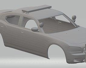 US Police Car Printable Body Car