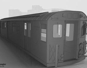 Subway Train Car R36 3D