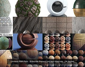 Limitless PBR Pack - Subscribe Present and Next 3D