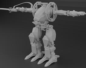 3D asset Avatar AMP suit Exoskeleton Robot