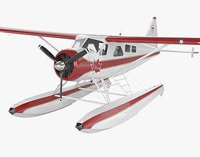 3D model De Havilland Canada DHC-2 Beaver
