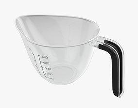 3D Kitchen measuring jug