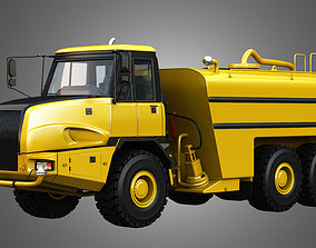 3D model JD - 300D II Articulated Water Tanker