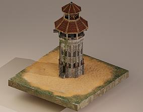 Archer Tower Level 20 3D