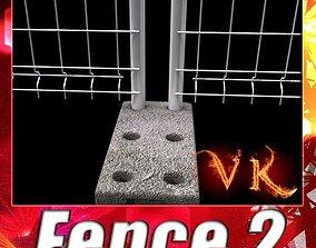 3D model Fence 02 - High Detailed