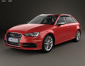 3D Audi S3 Sportback 2014