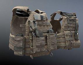 3D model SOLDIER Bulletproof Vest 04