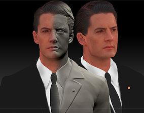 Dale Cooper Twin Peaks Kyle Maclachlan 3d