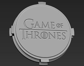 3D printable model Decorative Game of Thrones Base Stand 1