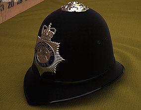 London Metropolitan Police Custodian Helmet 3D