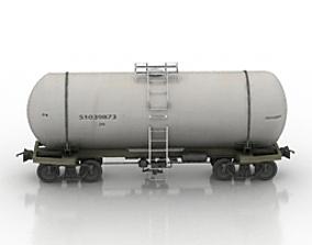 Wagon Tank 3D model