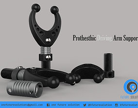 Prothesthic Driving Arm Support 3D