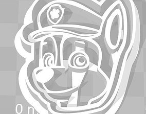 3D printable model Paw Patrol Cookie Cutter Details