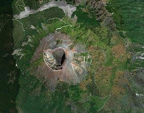 3D Pompei and Mount Vesuvius Italy