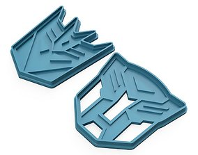 3D printable model Cookie-cutter Transformers