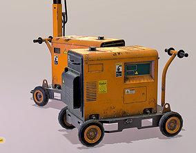 LowPoly Power Generator 3D model