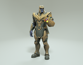 rigged character THANOS - 3D MODEL RIGGED
