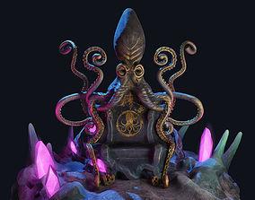 Kraken Throne 3D model