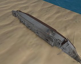 3D asset Shipwerck