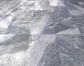 Marble Floor Alpin Black 3D