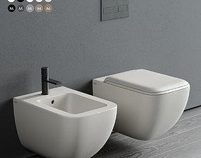 3D model Ceramica Cielo Shui Comfort Wall-Hung WC