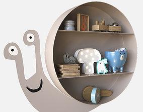 Snail model 3D