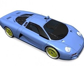 3D model Isdera Commendatore 112i