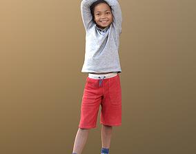 3D asset Zachary 10045 - Smiling Child