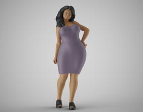 Summer City Woman 2 3D printable model