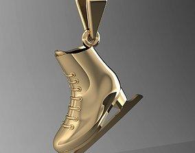 pendant skates 3D printable model