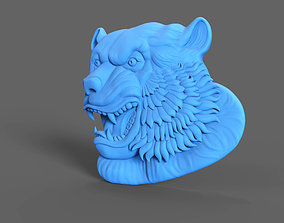 Tiger Relief 3D printable model