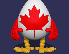 Canada Hatchling 3D print model
