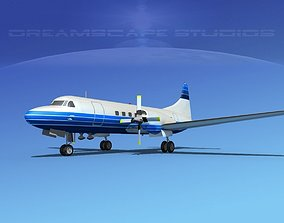 Convair CV-580 Corporate 3 3D