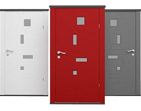 Exterior Door 11 3D model