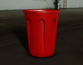 3D print model Plastic bucket