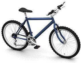 City bicycle 3D model