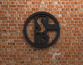 3D FC Schalke 04 Logo