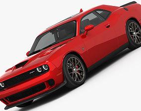 3D model Dodge Challenger SRT HELLCAT 2016 detailed
