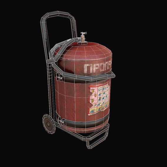Gas - Propane balloon - Game Props