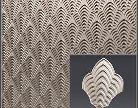 Gypsum 3D panel 34