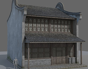 3D model Ancient Chinese architecture engineering