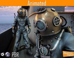 3D model Character Diver