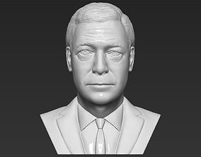 Nigel Farage bust 3D printing ready stl obj formats