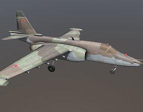 3D model The Sukhoi SU-25
