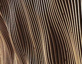 3D Parametric panel wood rail n2