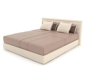 3D model Minotti Hamilton bed