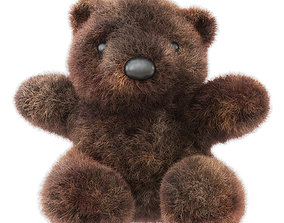 Bear Soft Toy 3D model
