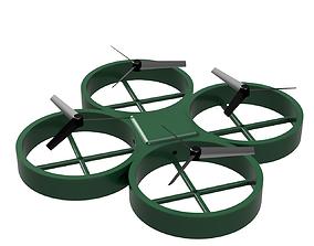 Round Drone 3D printable model