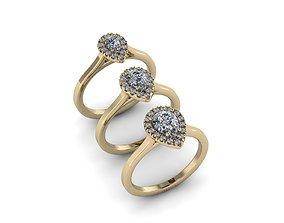Jewelry Rings NINE RINGS 030 3D print model