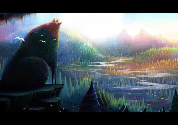 Wolfhill by Anush Arakelyan